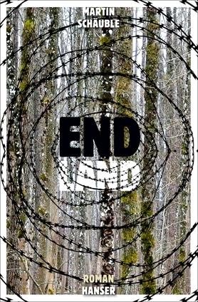 """Das Cover von """"Endland"""" zeigt Stacheldraht."""