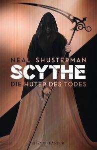 """Das Cover von """"Scythe - Die Hüter des Todes""""."""